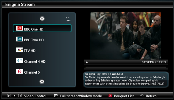 My Next Project - Enigma2 Samsung SMART TV App > pembo co uk